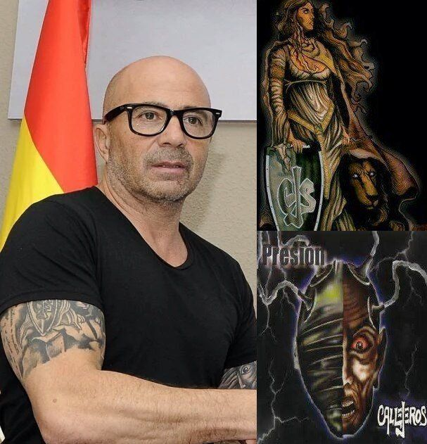 Los Nuevos Tatuajes De Jorge Sampaoli El Flamante Entrenador De La
