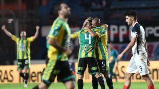 Aldosivi ganó en el Nuevo Gasómetro con un gol de Alan Alegre a los 19 del segundo tiempo.