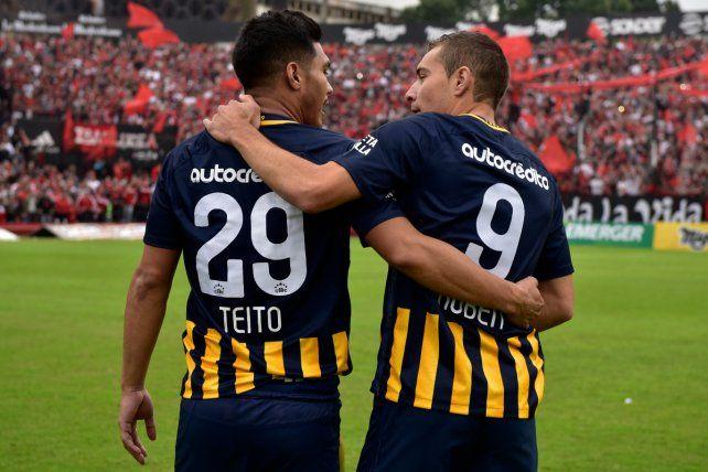 Dos para triunfar. Teíto Gutiérrez y Marco Ruben