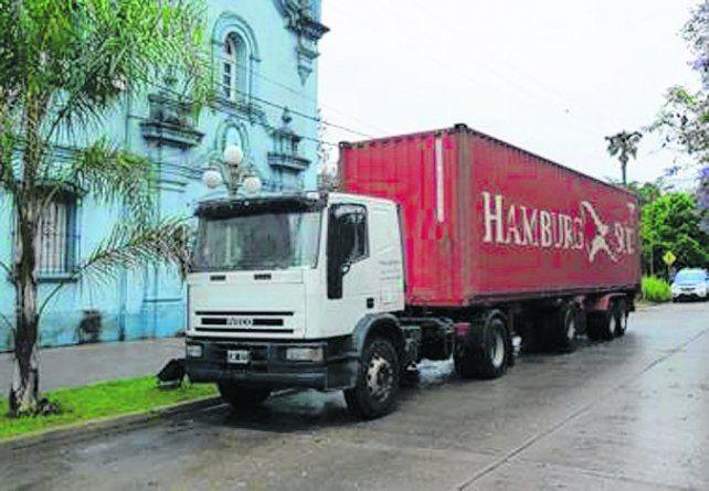 camión. El vehículo fue hallado con la droga en Arroyo Leyes en 2014.