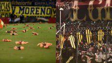 Los episodios ocurrido en el estadio de Central ante Racing y en la cancha de Newells en el Banderazo podría acarrear sanciones para ambos.