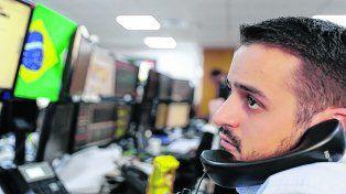 turbulencia. La Bolsa paulista y el mercado cambiario brasileño enfrentan tiempos de volatilidad.