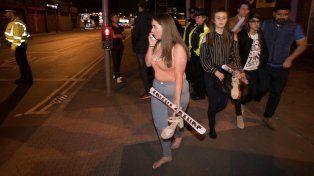 Dramáticas imágenes del atentado en el concierto de Ariana Grande en Manchester