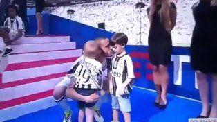 La historia detrás del enojo del hijo mayor de Leonardo Bonucci por el título de la Juventus