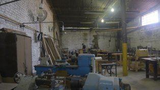 escuela crisol. El taller de la escuela, en Caupolicán al 300, donde cursaban las adolescentes que se trenzaron con una trincheta.