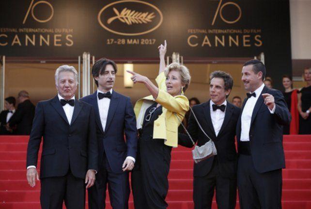 estrellas en la alfombra roja. Dustin Hoffman