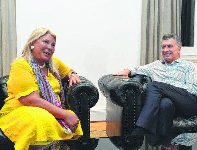 aval. El gobierno de Macri ratificó su acompañamiento a la legisladora.