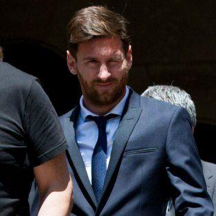 Lionel Messi, el crack del Barcelona y de la selección argentina.