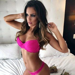 La rosarina Rocío Robles, de 24 años.