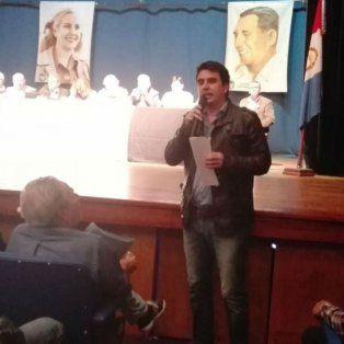 El concejal Eduardo Toniolli, secretario general del PJ seccional Rosario.