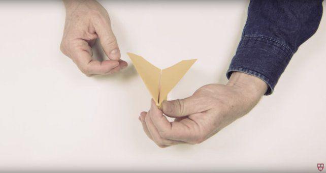 La universidad de Harvard te muestra en un video cómo hacer el mejor avión de papel del mundo