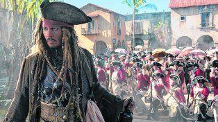 antihéroe. Depp vuelve a ponerse en la piel de Jack Sparrow. El malvado, esta vez, está interpretado por Bardem.