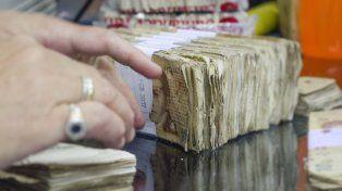 El Banco Central destruyó 350 millones de billetes en estado de deterioro.