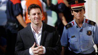 Fallan contra Messi en la batalla que libran Madrid y Catalunya