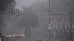 Lluvias y neblina. Eso prevé para hoy el SMN para Rosario.