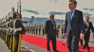 Macri estuvo ayer en quito para participar de la asunción del presidente Lenín Moreno.