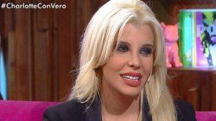 Charlotte volvió al país y fue entrevistada por Verónica Lozano.