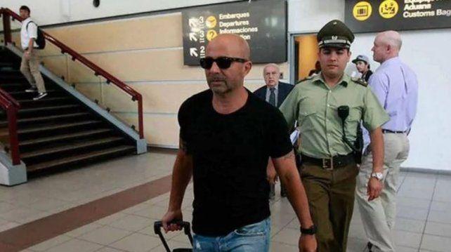 Sampaoli llegó al país para dirigir la selección, pero será presentado el 1º de junio