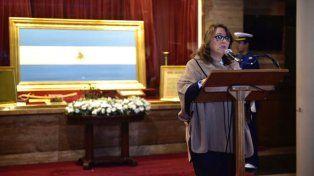 La intendenta, presente en las celebraciones por el 25 de Mayo.