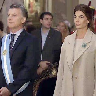 macri participa junto a juliana awada del tedeum en la catedral por el 25 de mayo