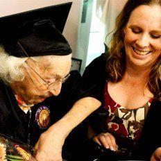 Theresia Brandl, la abuela de 105 años que cumplió su sueño.