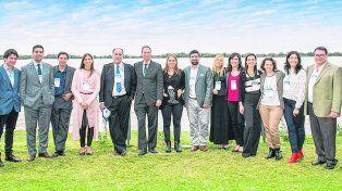 Los responsables. El encuentro, que se llevó a cabo del 16 al 18 de mayo en Rosario, fue un éxito por la convocatoria y nivel de trabajos presentados.