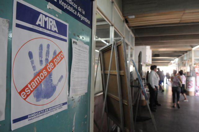 Los trabajadores de la salud municipal anunciaron un paro de 24 horas.