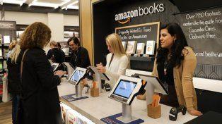 amazon en new york. Planea tener 13 librerías en EEUU a fin de año.