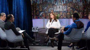 Verborrágica. Cristina cuestionó la situación social del país en la nota que brindó en el Instituto Patria.