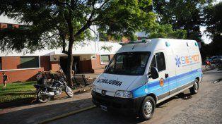 La víctima recibió las primeras atenciones en el Hospital Alberdi. Después fue derivada.