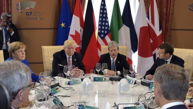 La cumbre del G7, en imágenes