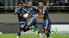 argentina goleo a guinea y mantiene la esperanza de clasificar a los octavos de final