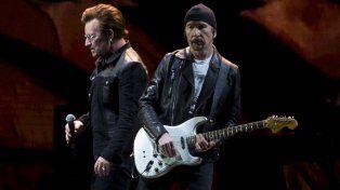 Bono y The Edge, en acción. La banda visitará por cuarta vez Argentina.