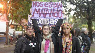 Reclamo en alto. Distintos colectivos de mujeres vienen clamando por respuestas del Estado.