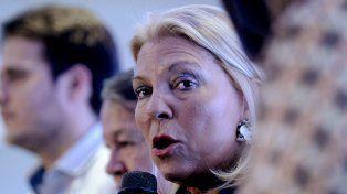 La diputada Carrió cargó contra la AFI al asegurar que es víctima de una persecución.