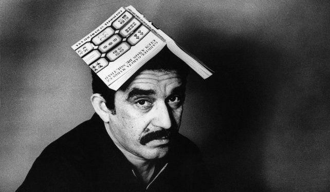 Foto de Sara Facio a un Gabriel García Márquez de aquellos años