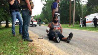 El video del detenido por el tiroteo en Mississippi que dejó el saldo de ocho muertos