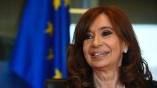 Ex presidenta Cristina Fernández de Kirchner.
