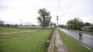 Al costado del hospitaL. El terreno ubicado sobre la calle Sylvestre Begnis, que se cedería a la Facultad Regional Rosario.