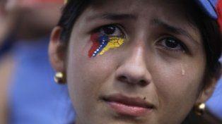 dolor. La juventud venezolana sale todos los días a reclamar elecciones libres