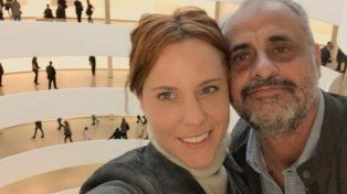 Cuando eran pareja, Agustina y Jorge compartían paseos por los museos.