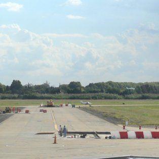 El aeropuerto de Fisherton no estará operativo desde el martes hasta el jueves.