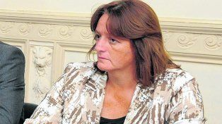 causa penal. Ana Viglione rechaza haber cometido delito alguno. Ayer por consejo legal rehusó declarar. .