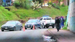 encerrado. La víctima fue emboscada en el Bajo Nogués ayer a las 17.