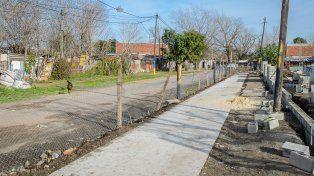 Gestión conjunta: inspeccionan la intervención en el barrio Villa Moreno