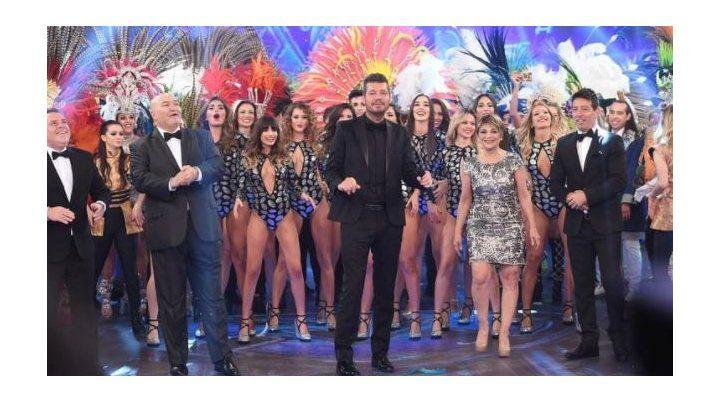 Tinelli volvió a la TV con un show impactante y un pico de 30 puntos de rating
