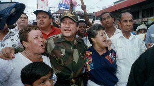 En 1990, Noriega fue condenado a 40 años de prisión por narcotráfico y lavado de dinero.