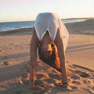 calu rivero se llevo todas las miradas en cannes y corono su paseo con un topless en la playa