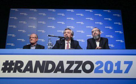 Presentación. El jefe de campaña de Randazzo