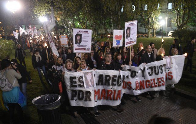 La marcha multitudinaria en la que se pidió el esclarecimiento del caso.